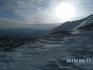 aufgehende Sonne auf ca. 6.500 m